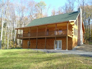 Daniel Boone Log Home