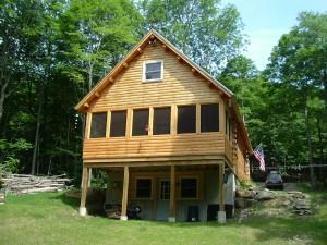 McGann Log Home