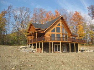 Salman Log Home