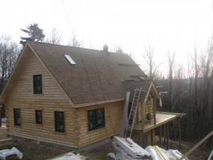Sevigny Log Home