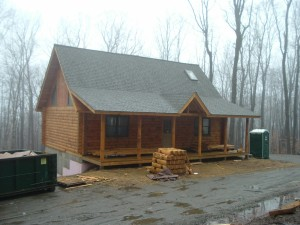 Weissman Log Home