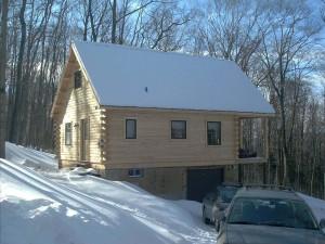 Williams Log Home